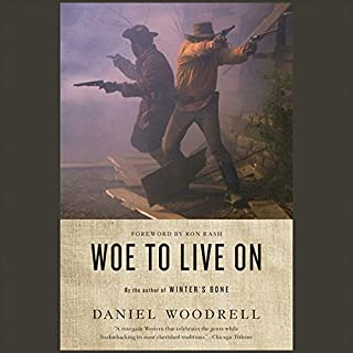 Woe to Live On audiobook cover art