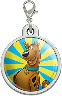 GRAPHICS & MORE Scooby-Doo Character Chrome Plated Metal Pet Dog Cat ID Tag