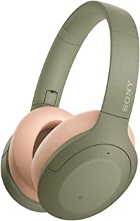 Sony WHH910N h.Ear on 3 Wireless Noise Cancelling Headphones, Green