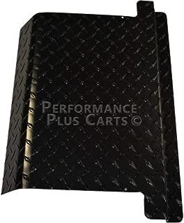 Performance Plus Carts EZGO Golf Cart Black Diamond Plate Access Panel