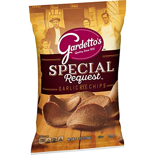 Gardetto's Snack Mix Special Request Roasted Garlic Rye Chips 8.0 oz Bag (pack of 12)
