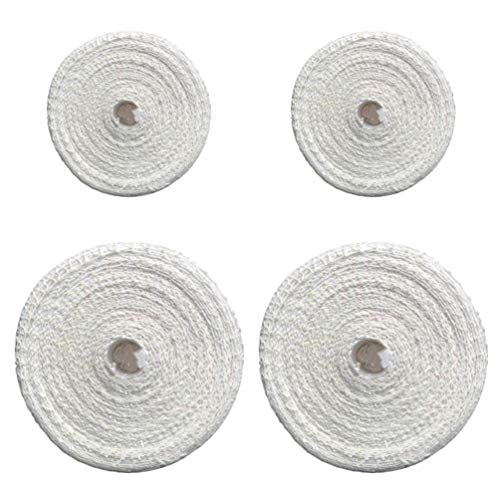 UPKOCH Rollbratennetz Elastisch Baumwolle Fleischnetz-Rolle Bratennetz Schinkennetz Räuchernetz Metzger Netz für Einfüllrohr 4 Rollen