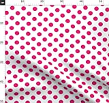 Rosa, Weiß, Punkt, Gepunktet, Streifen, Punkte, Verspielt