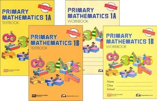 Singapore Primary Mathematics Level 1 Kit (US Edition)