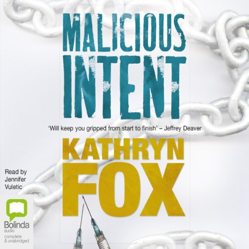 Malicious Intent audiobook cover art