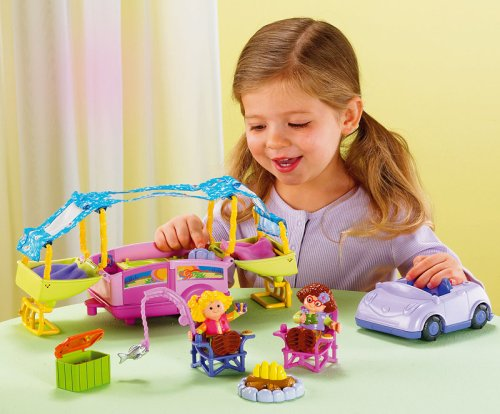 Sarah Lynn And Her Camping Adventure Fisher Price Little People