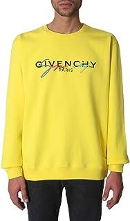 GIVENCHY Luxury Fashion Mens BMJ03C30AF737 Yellow Sweatshirt | Fall Winter 19