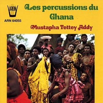 Les percussions du Ghana
