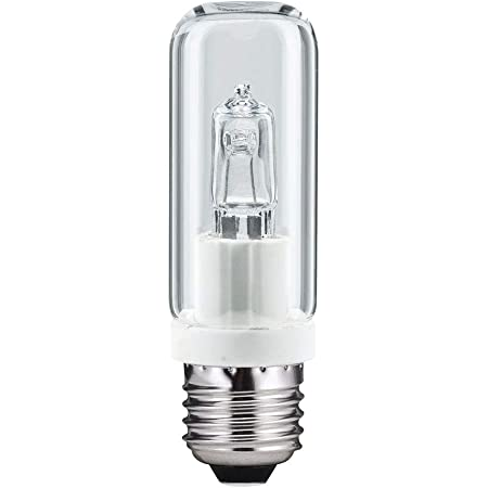 Halogen Leuchtmittel R/öhre 70W E27 Gl/ühbirne warmwei/ß 2700K dimmbar klar, 70 Watt