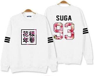 Kpop BTS Bangtan Boys Sweater Rap Monster Jin Suga Jimin V Hoodie Unisex Sweatershirt