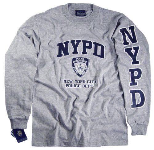 NYPD Shirt T-Shirt Clothing Apparel Officially Licensed Merchandise Medium