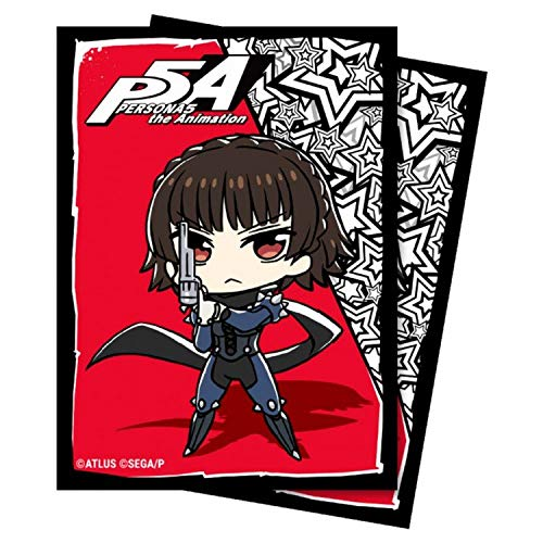 Ultra Pro ULP85874 Deck Protector Persona 5-Chibi Mikoto Card Accessories - 65 Piece