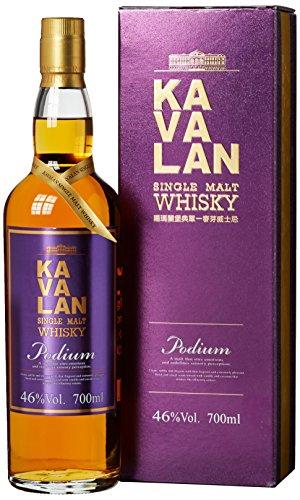 Kavalan Podium Single Malt Whisky mit Geschenkverpackung (1 x 0.7 l)