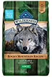 Blue Buffalo Wilderness Rocky Mountain Recipe High Protein, Natural Adult Dry Dog Food, Rabbit 22-lb