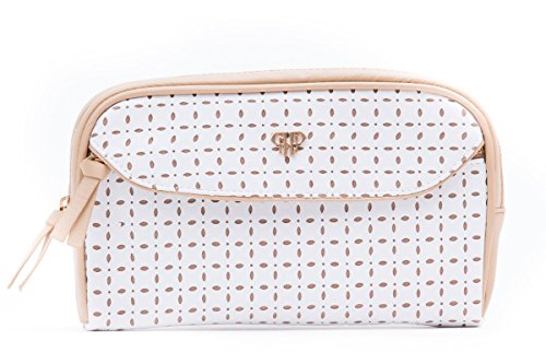 PurseN Clutch Makeup Case (White Dunes)