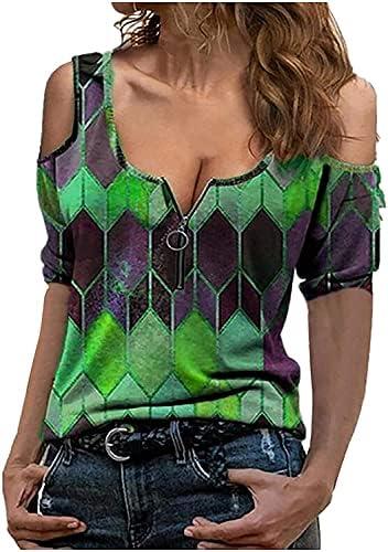 WAQIAGO Imaczi T Shirts for Womens,Women Buttons...