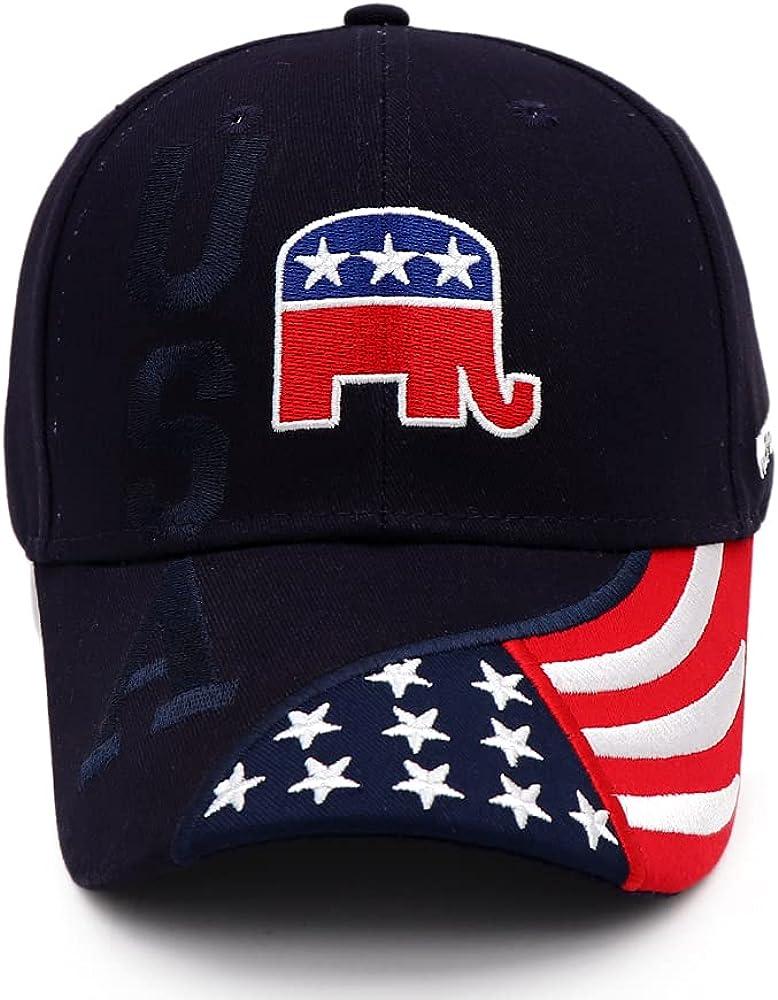 Idealforce Trump Hat 2024 Adjustable Camo Embroidered Trump 2024 Baseball Cap