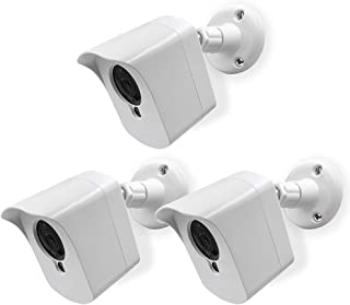 Mounting Kit for Wyze Cam (3 pcs White) - Outdoor Case for Wyze Camera & v2 1080p Full HD w/Screw Mounts - Wyze Waterproof...