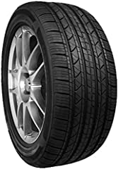 Wide ribs around the tire improve steadiness, handling, and lateral grip Angled and longitudinal sips increase tire and tread life Maximized tread pattern provides exceptional performance in all seasons Built with water-dispersing grooves to reduce t...