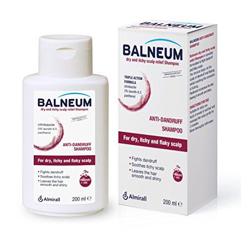 Balneum Champú para aliviar el cuero cabelludo seco y picazón, 200 ml
