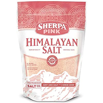 Sherpa Pink Authentic Himalayan Salt Fine Grain