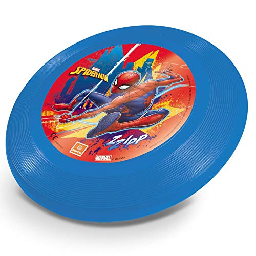 Mondo Toys - Spiderman Flying Disc - Fresbee Disco volante per bambini - super leggero - 09109