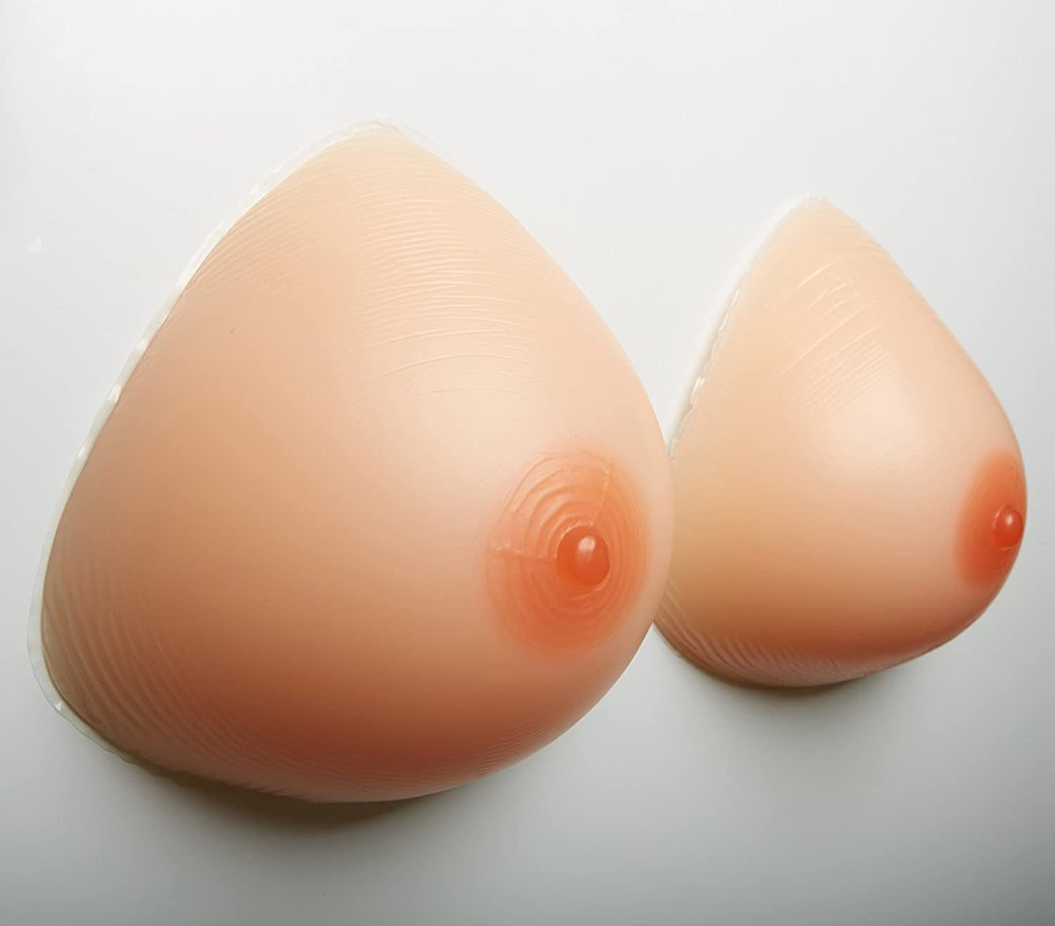 Bra Pads Fake Breasts Fake Breast 100% NonAllergic Medical Silicone One Pair