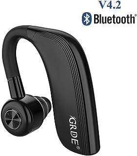 cb6dfaea869 Auricular Bluetooth 4.2, Auricular Manos Libres con Duración 22 Horas Para  IPhone Android Auriculares Bluetooth