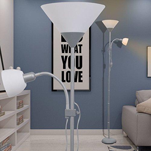 Lampe sur pied gris