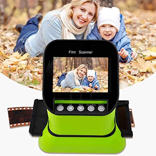 NZYMD - Scanner e pellicola digitale con grande schermo LCD da 4,3 , W-converte 120 127 film, 35 mm, 135 126 negativi e diapositive in JPEG digitale