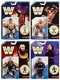 Wrestling Figure WWE Completo Serie los 4 Mattel Retro Serie 8