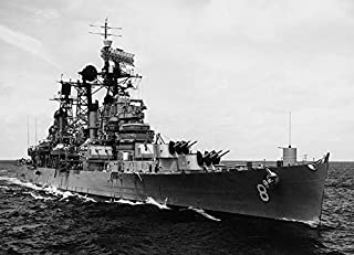 Home Comforts The U.S. Navy Guided Missile Cruiser USS Topeka (CLG-8) Steaming in The South China Sea, 6 September Vivid Imagery Laminated Poster Print 24 x 36