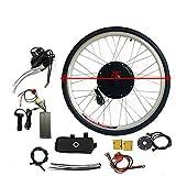 Kit de conversión de motor trasero E-bike de 28 'Kit de conversión de bicicleta eléctrica 800W para rueda trasera