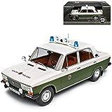 Lada 2106 1600 Limousine Grün Weiss Volkspolizei DDR 1979-2012 1/18 Triple 9 Modell Auto