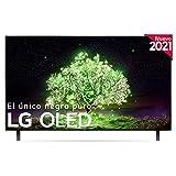 LG OLED OLED48A1-ALEXA 2021-Smart TV 4K UHD 120 cm (48') con Inteligencia Artificial, Procesador Inteligente α7 Gen4, Deep Learning, 100% HDR, Dolby ATMOS, HDMI 2.0, USB 2.0, Bluetooth 5.0, WiFi