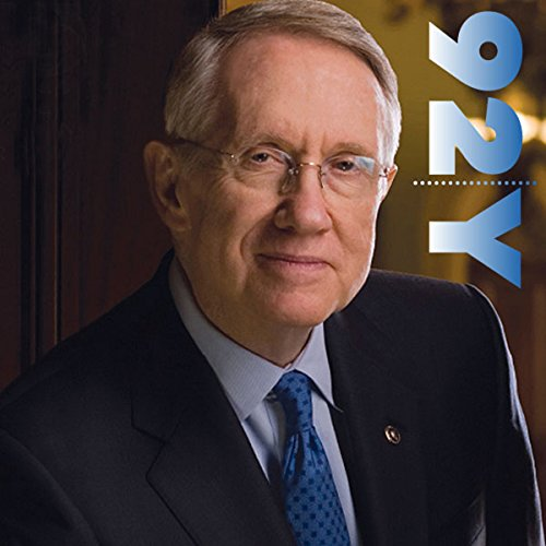 Senator Harry Reid at the 92nd Street Y audiobook cover art