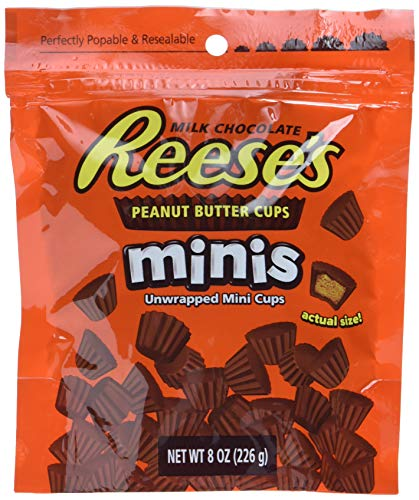 Reese Peanut Butter Cup Minis Pouch, 4er Pack (4 x 200 g)