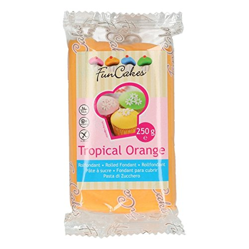 FunCakes Fondant Tropical Orange 250g
