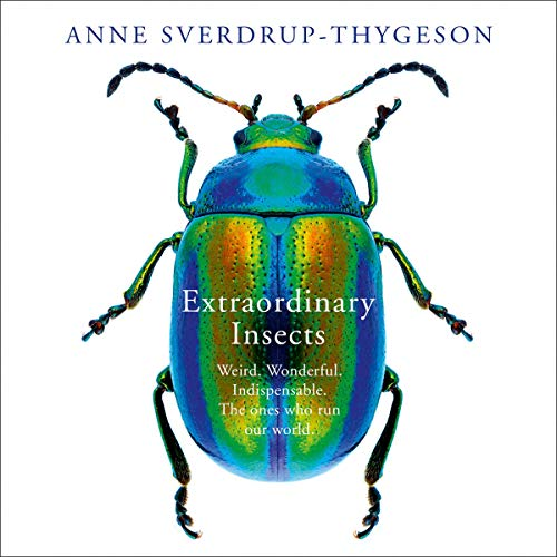 Extraordinary Insects     Weird. Wonderful. Indispensable. The Ones Who Run Our World.              By:                                                                                                                                 Anne Sverdrup-Thygeson                               Narrated by:                                                                                                                                 Kristin Milward                      Length: 7 hrs and 15 mins     Not rated yet     Overall 0.0