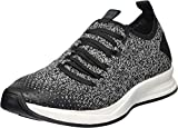 Under Armour Women's Charged Covert Knit Sneaker, Black (001)/Steel, 9