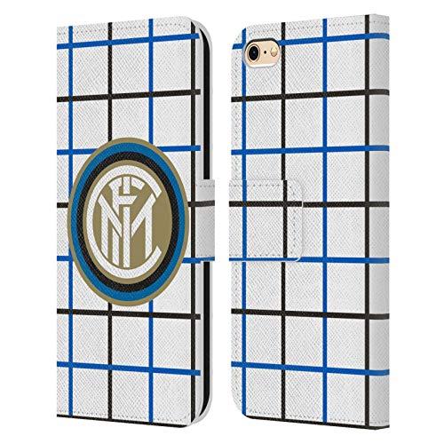 Head Case Designs Ufficiale Inter Milan Fuori Casa 2020/21 Kit Crest Cover in Pelle a Portafoglio Compatibile con Apple iPhone 6 / iPhone 6s