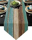 FAMILYDECOR Linen Burlap Table...