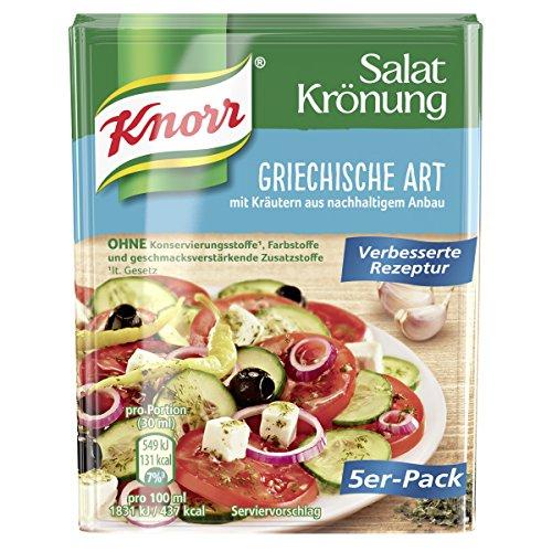 Knorr - Salatkrönung Griechische Art Condimento per...