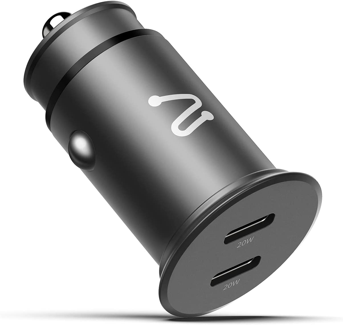 USB C Car Charger, Aergiatech 40W (20W+20W) Dual Type C PD 3.0 Port Car Charger Adapter Fast Charging for iPhone 13/13 Mini/13 Pro/12/12 Pro/12 Mini/11/11 Pro, Samsung S21/S20/S10, iPad Pro, AirPods