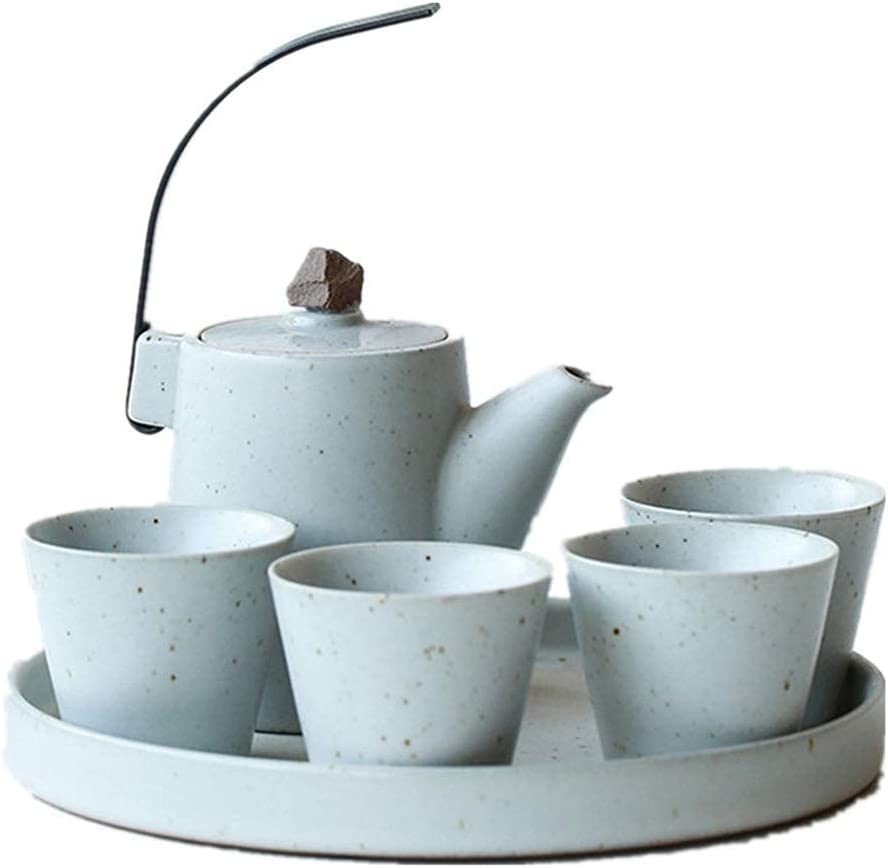 Teapot Japanese, Handle and Tea half Cups Household Set Sale price Service