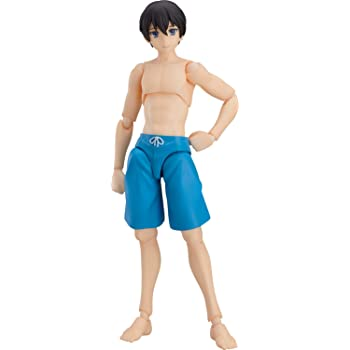 TYPE2 Non-scale ABS /& PVC Painted movable figure figma Swimsuit Male Body Ryo