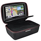 HESPLUS Hard Storage Travel Case Compatible with 6-7' Inch for Garmin DriveSmart 65 / 61 LMT-S Drive 61 / 50 Nuvi 2797LMT 65LM 2757LM 2689LMT Tomtom Go Via Mio GPS Navigator and Accessories