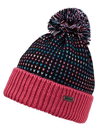 Ziener Kinder ITTER Junior Bommel-mütze/Warm, Gestrickt, pink Rouge, S