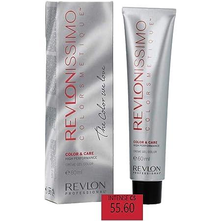 REVLON PROFESSIONAL Revlonissimo Colorsmetique, Tinte para el Cabello 560 Rojo Oscuro Intenso, 60 ml
