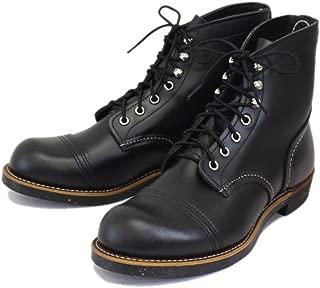 [レッドウィング] 8080 Iron Range Boots (アイアンレンジブーツ) ブラッククローム